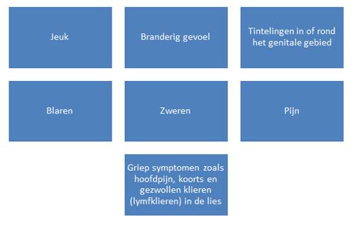 symptomen herpes