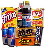 Top 10 meest ongezonde snacks