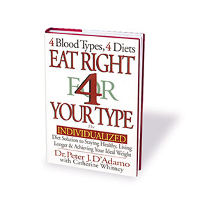 eat right 4 your type cover