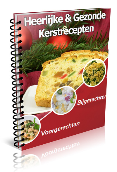 Kerstrecepten eBook cover groot