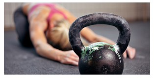 crossfit workout vrouw