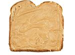 pindakaas op brood