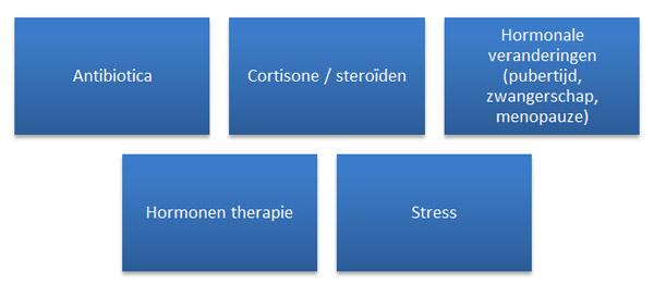 hormonale onblans