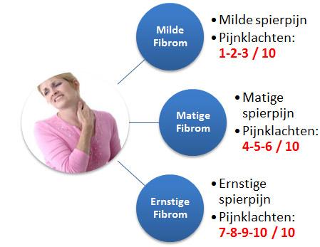 fibromyalgie pijn niveau